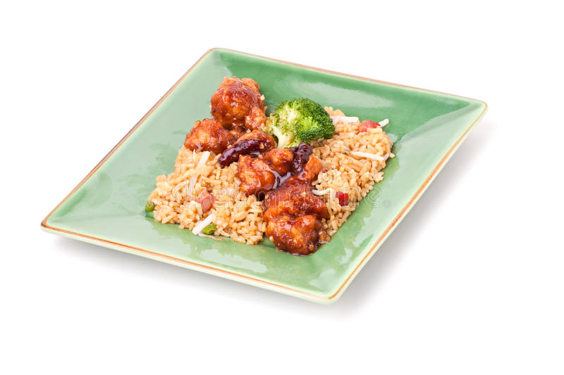 Download General Tsos Chicken stock image. Image of ginger, meat - 17691629
