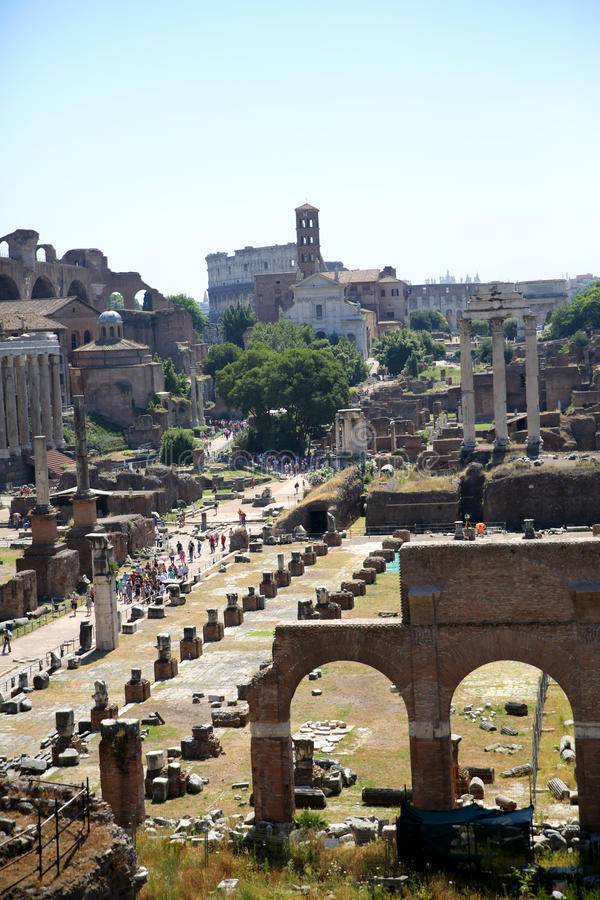 Download General View Of Roman Forum Stock Photo - Image: 32012474