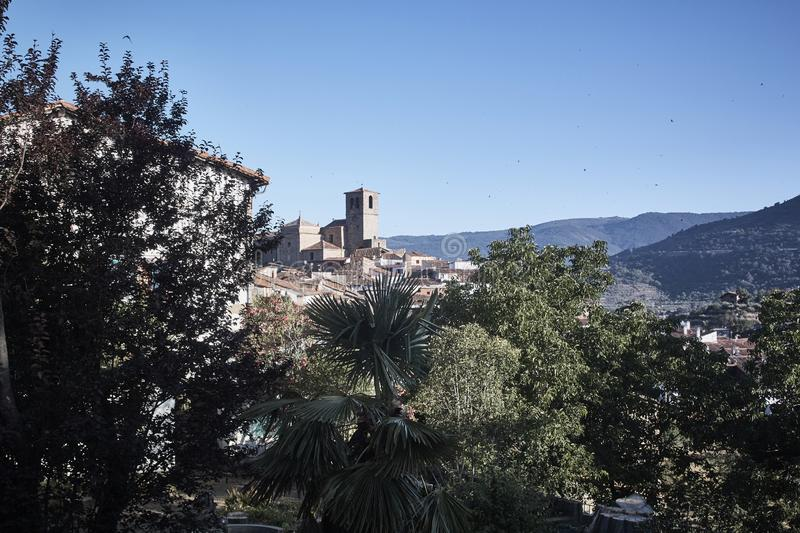 General view of town royalty free stock images