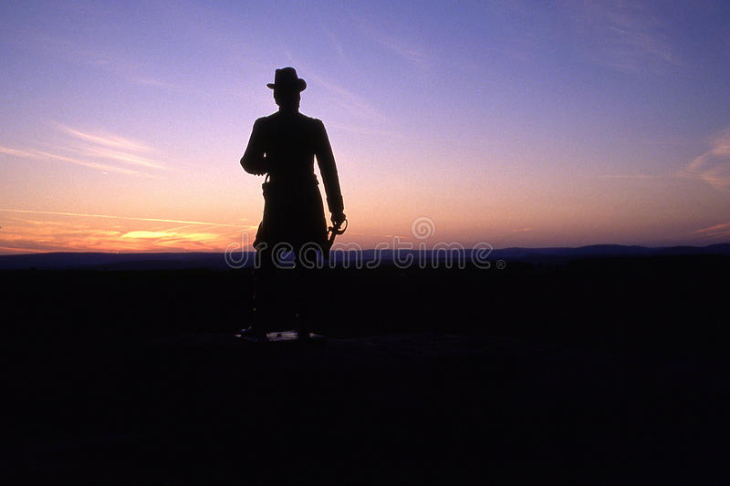 Download General Warren Statue stock image. Image of gettysburg - 18240987