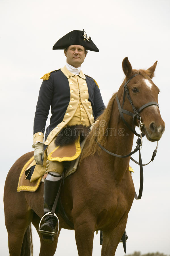 Download General Washington Looks Over His Troops Editorial Photography - Image: 26901352