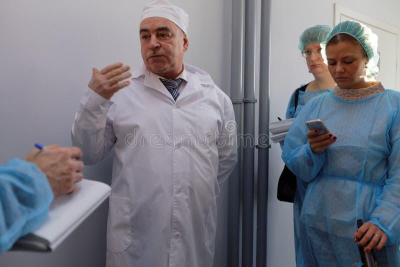 Generaldirektor des Chemikalie-biologischen Unternehmens Vita Mikhail Borts lizenzfreies stockbild