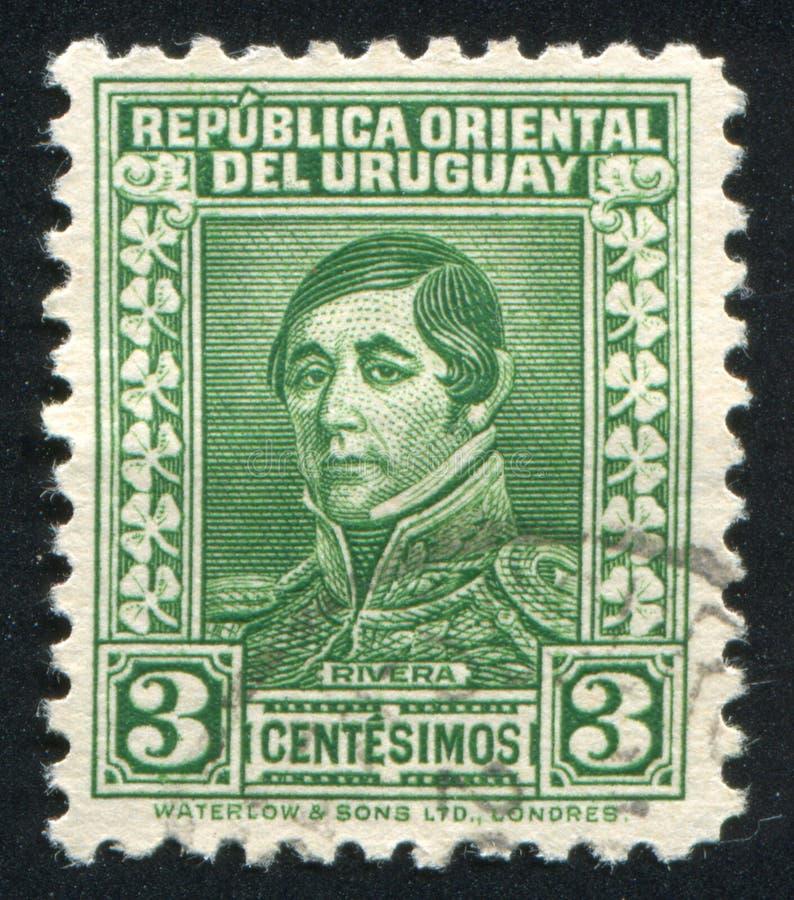 Generale Rivera immagini stock