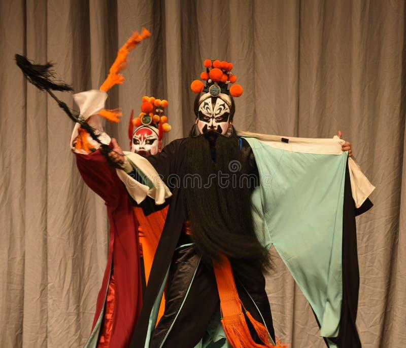 """Generali delle donne di Pechino Opera"""" del messaggero del necrologio del  del € di Yang Familyâ immagini stock libere da diritti"""