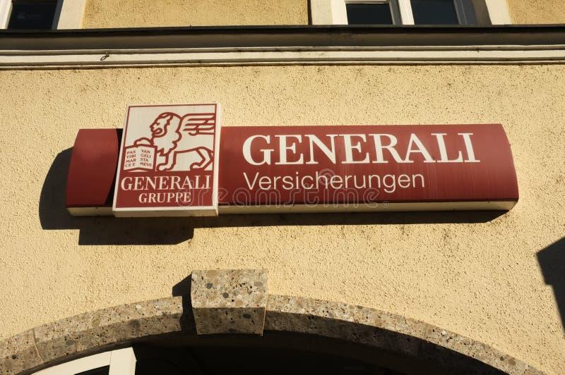 Generali Versicherungen fotografia de stock