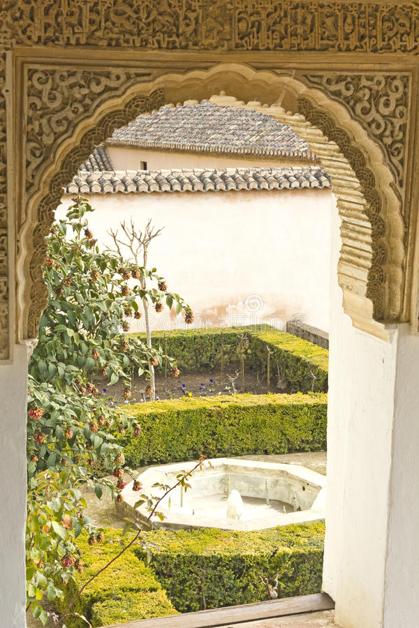 Generalife royaltyfria bilder
