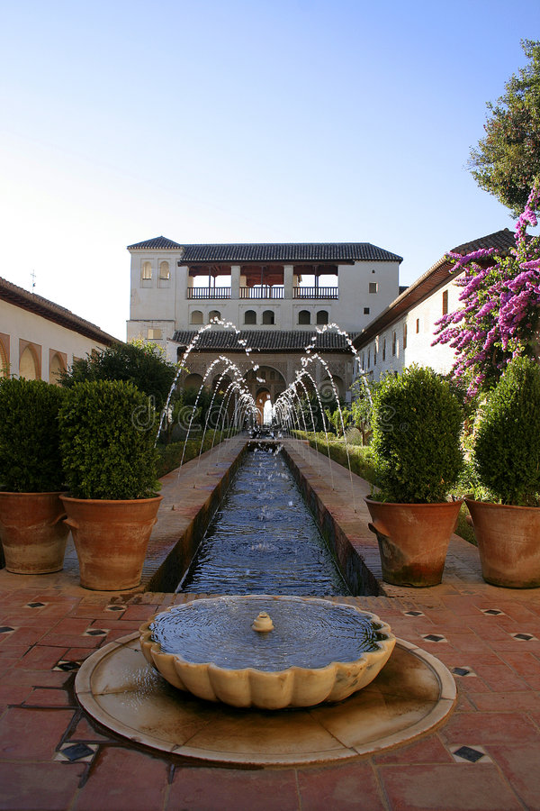 Generalife photos stock