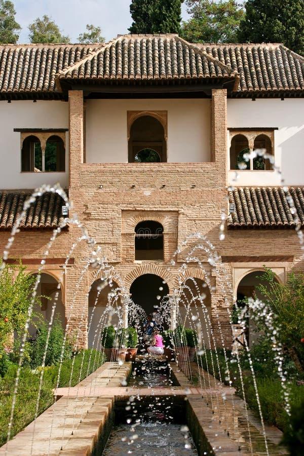 Generalife Alhambra foto de stock