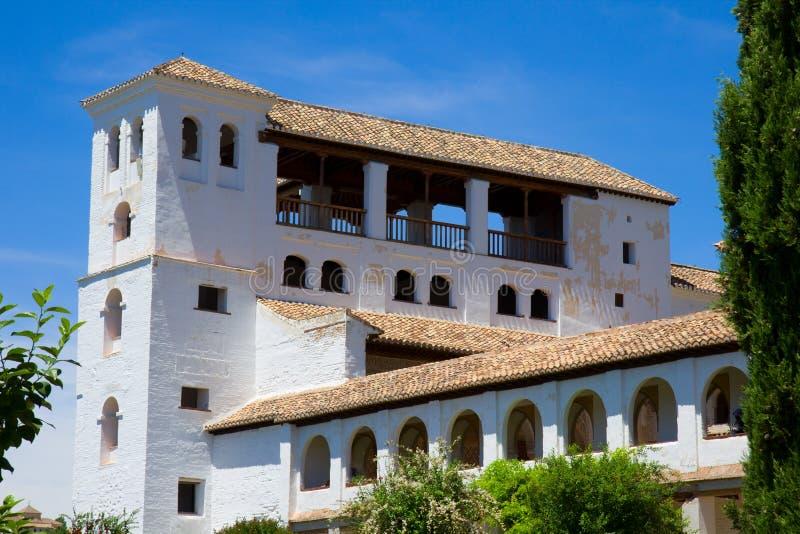 Generalife palace, Spain stock photos