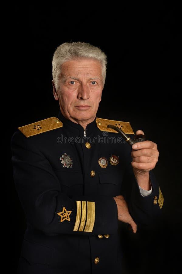 Generalit? matura militare fotografia stock