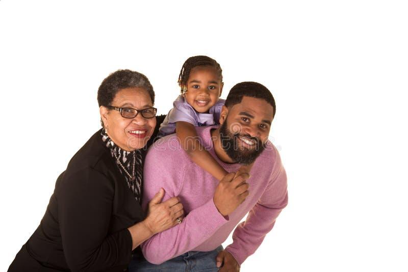 3 generaties royalty-vrije stock afbeelding
