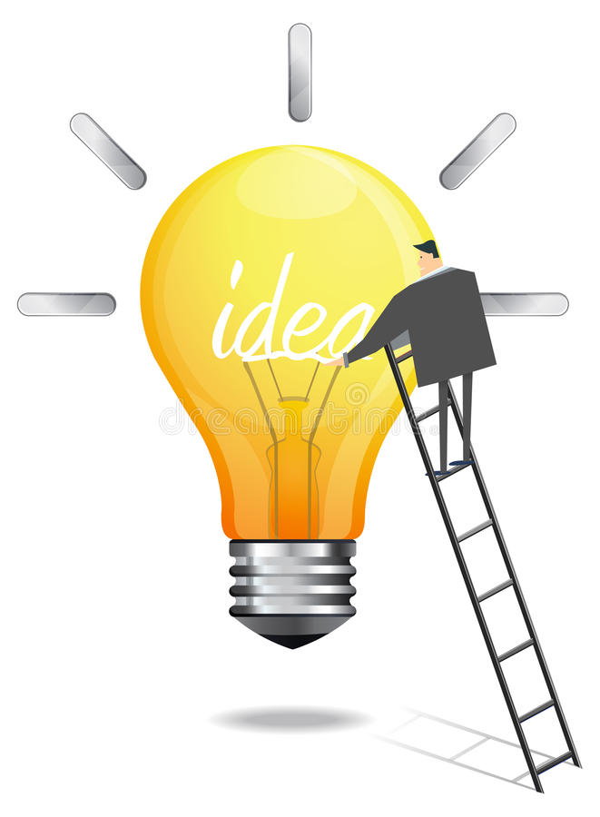 Generating Idea - Illustration Royalty Free Stock Images