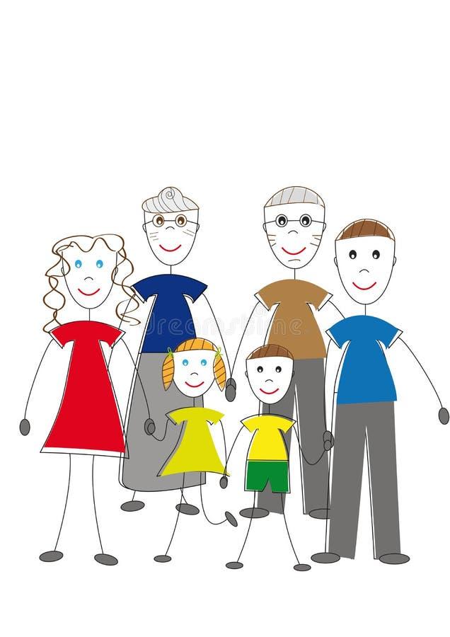 Download Generation stock vector. Illustration of cute, diversity - 17376748