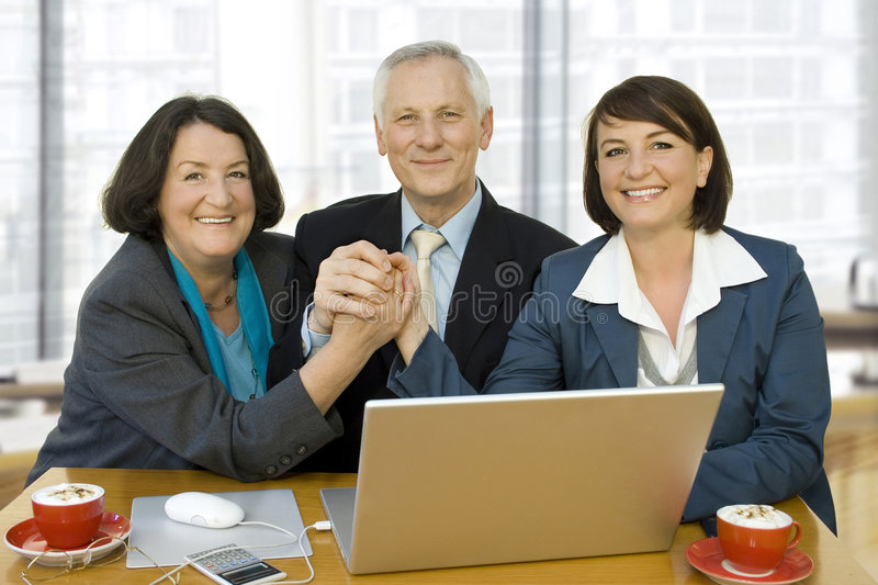 Generation business 3 stock photography