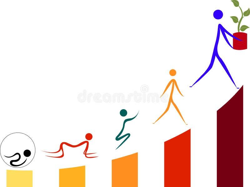 Generation growth stock illustration