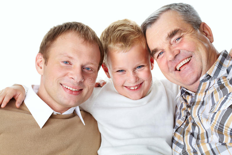 Download Generation of men stock photo. Image of face, handsome - 25443432