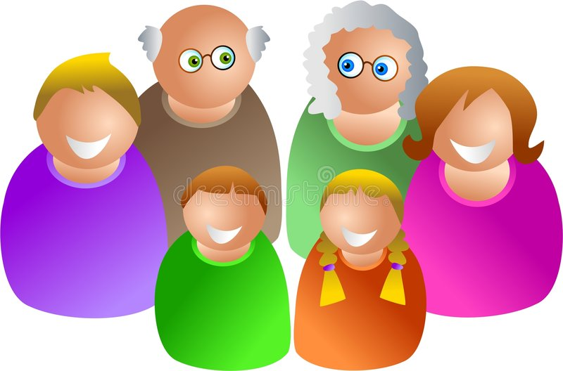 Download Generations stock illustration. Image of father, brother - 335317