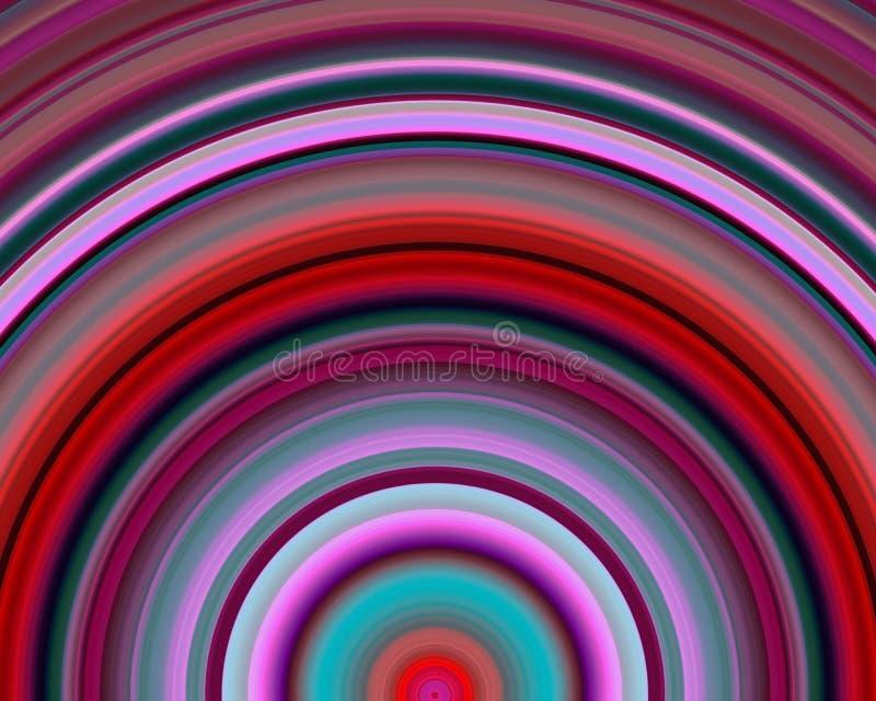 Download Generative Art Red Blue Magenta Hues Sundawn Stock Illustration - Illustration: 5179185