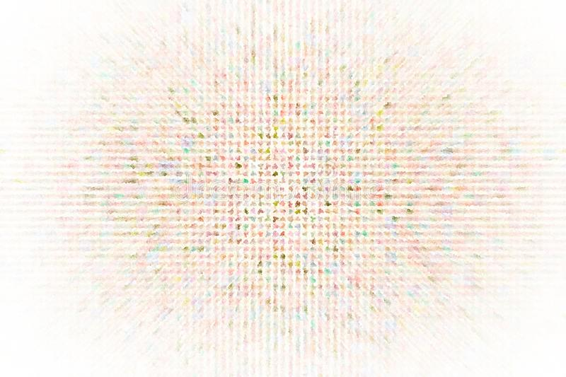 Generative square pixel mosaic for design wallpaper, texture or background. Shape, pattern, decorative, shape, motion & tiled. vector illustration