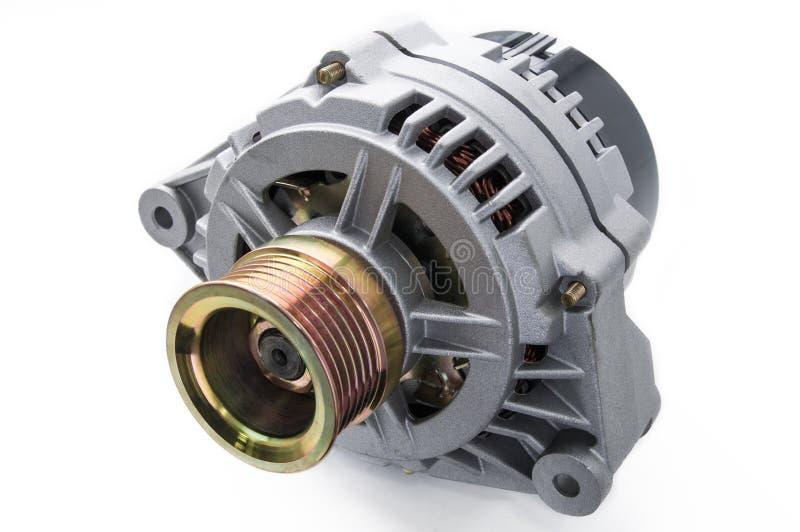 Car alternator stock image