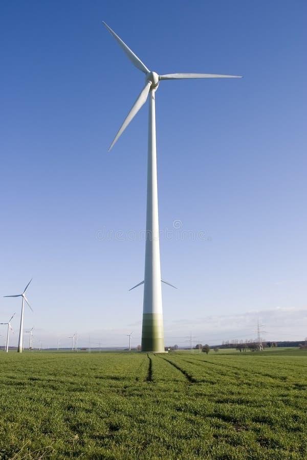 generator energii wiatru zdjęcia stock