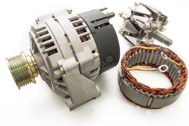 Generator für das Auto lizenzfreie stockfotos