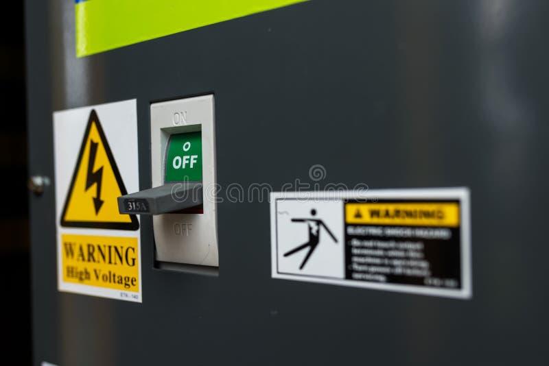 Generator Power industria place . royalty free stock photos