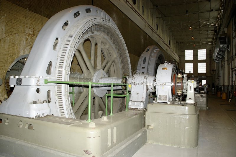 Generatore Di Energia Elettrica Immagini Stock Libere da Diritti