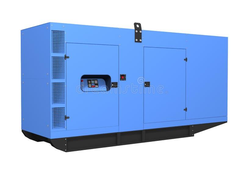 Generatore diesel illustrazione vettoriale