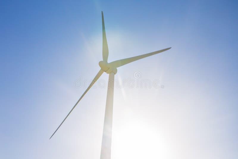 Generatore eolico per energia alternativa Potenza concept immagini stock