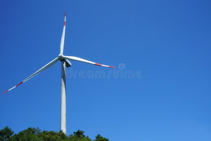 Generatori eolici in porcellana immagini stock libere da diritti