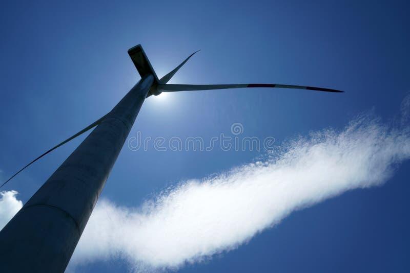 Generatori eolici in porcellana fotografie stock