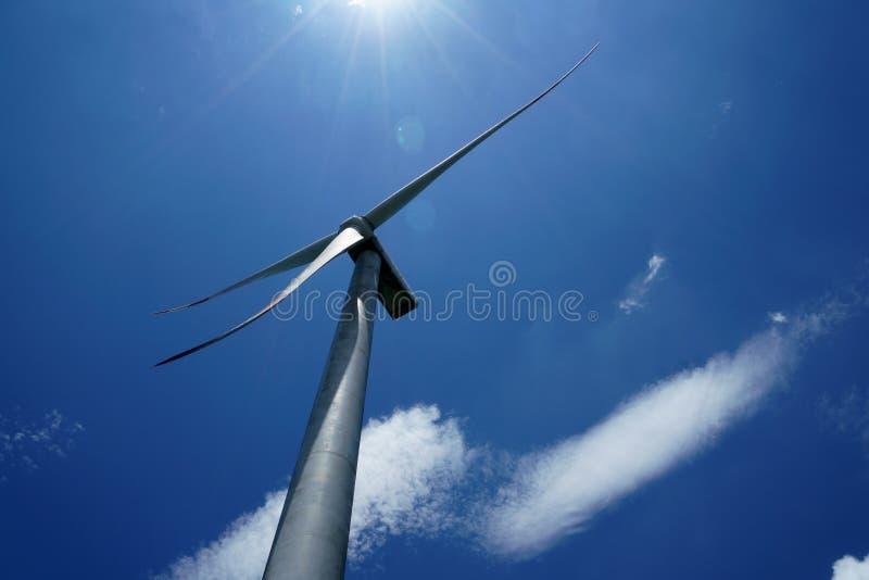 Generatori eolici in porcellana immagini stock