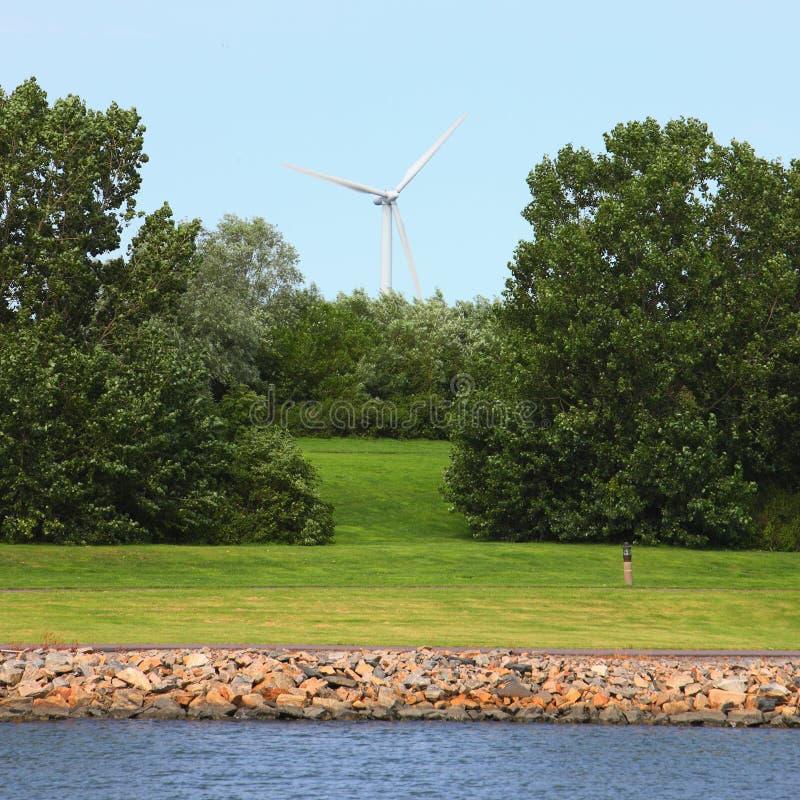 generatoru napędzany wiatr obrazy stock