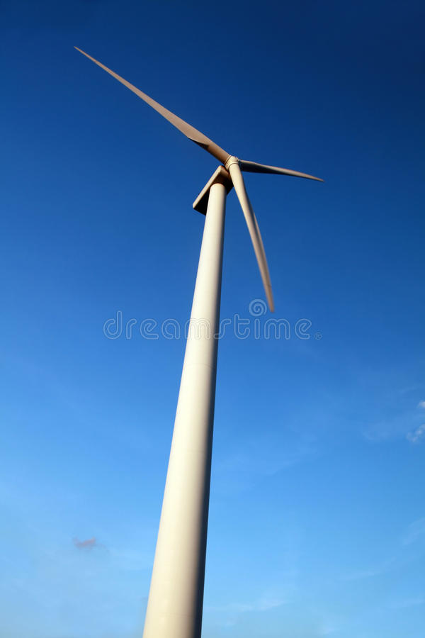 generatoru wiatr fotografia stock