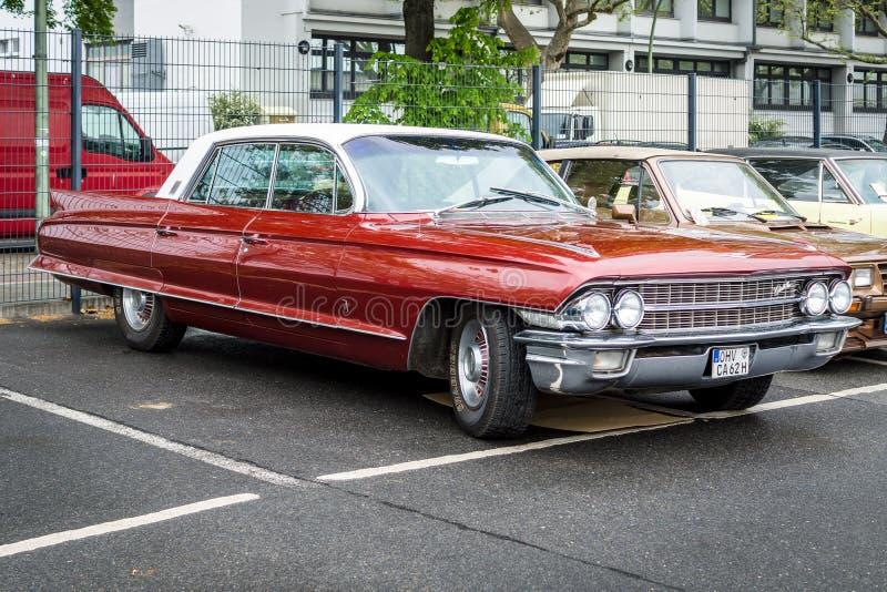 Generazione di lusso 100% dello speciale ottavo di Cadillac sessanta dell'automobile, 1962 fotografie stock libere da diritti