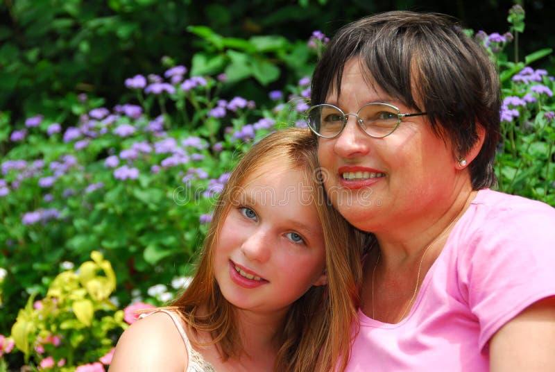 Generazioni della famiglia immagini stock libere da diritti