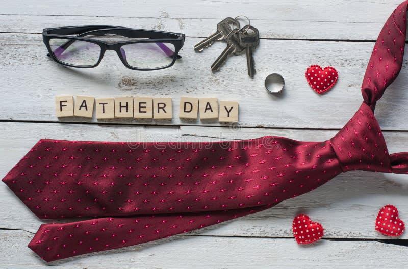 Generi il ` del giorno del regalo del giorno del ` s e di padre del ` di parola fotografia stock