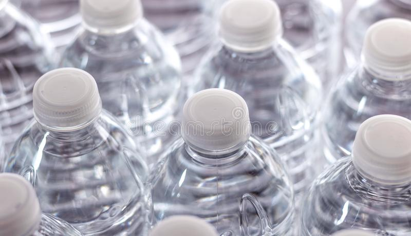 Generic Bottled Water royalty free stock images