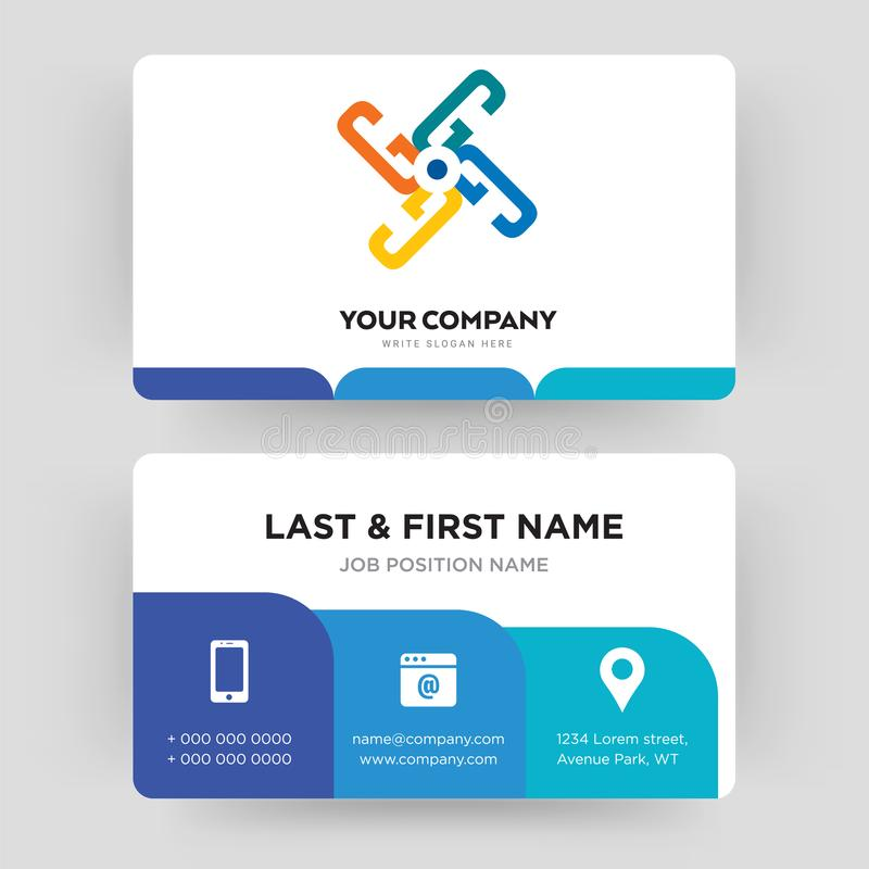 Generic Business Card Design Template, Visiting For Your Company ...