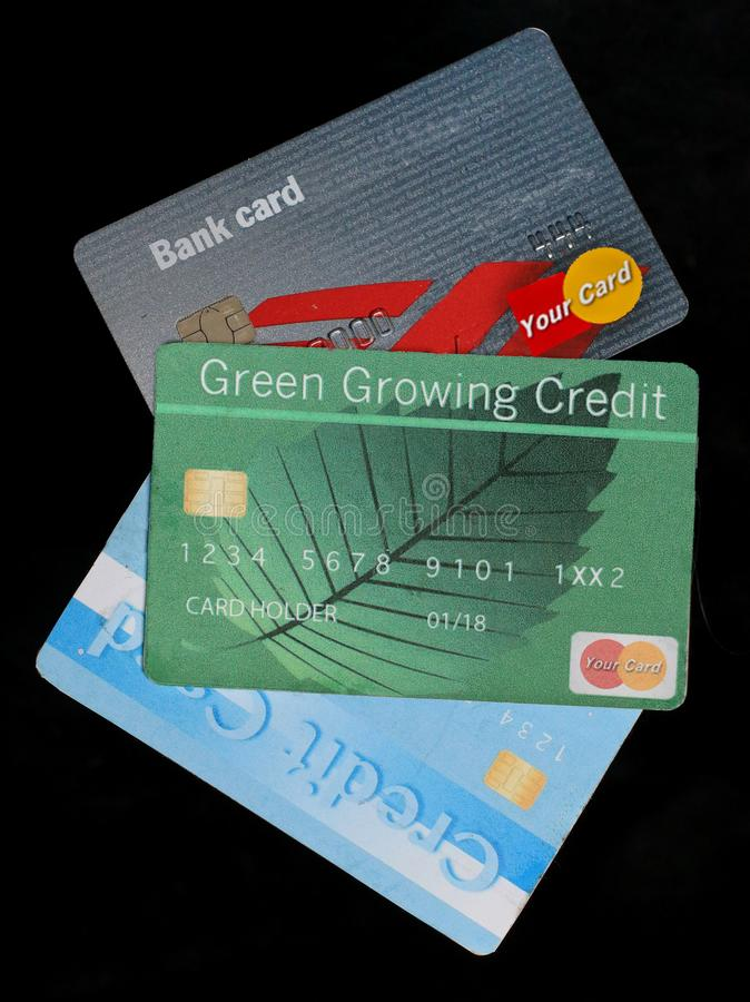 this is a generic credit card isolated on a white