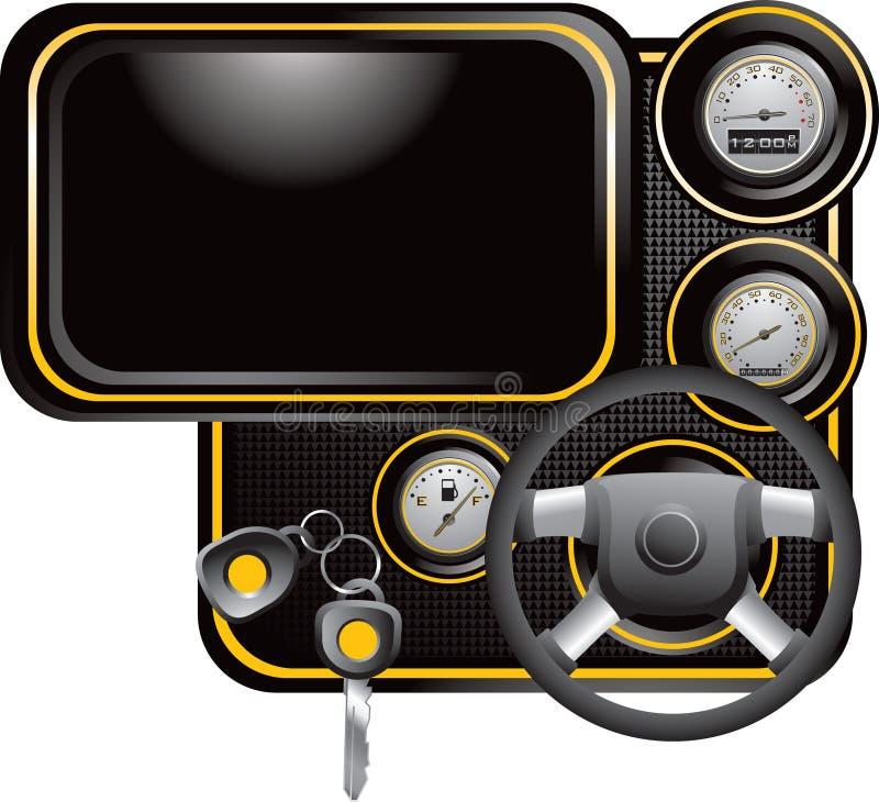 Generic dashboard vector illustration