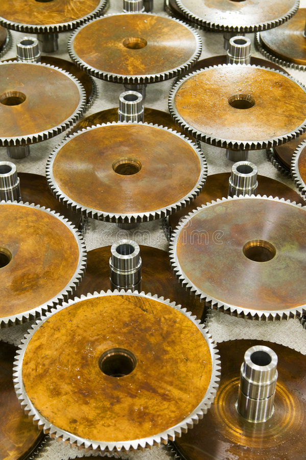 Generic Gears stock photography