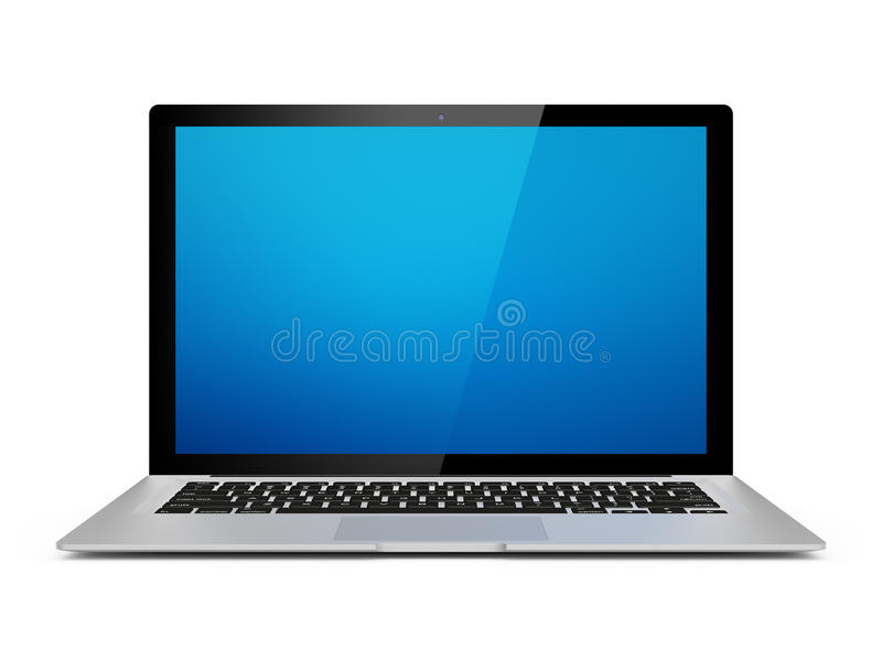 Generic Laptop Royalty Free Stock Photography