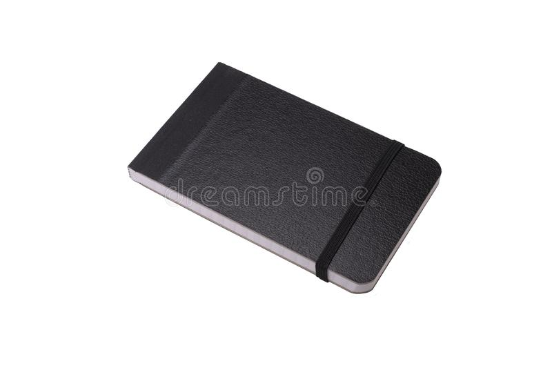 Generic notebook on white royalty free stock photo