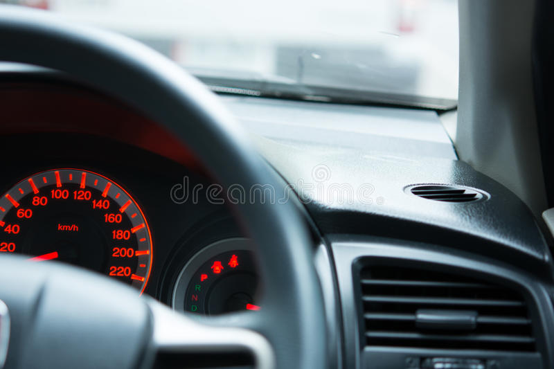 Generic photo of man driving car. Generic photo of man driving in the car royalty free stock images