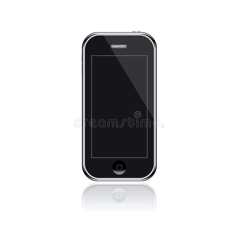 Download Generic Smart Phone stock vector. Image of contact, screen - 25632808