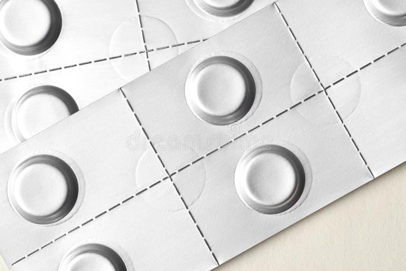 Generic table pills stock photos