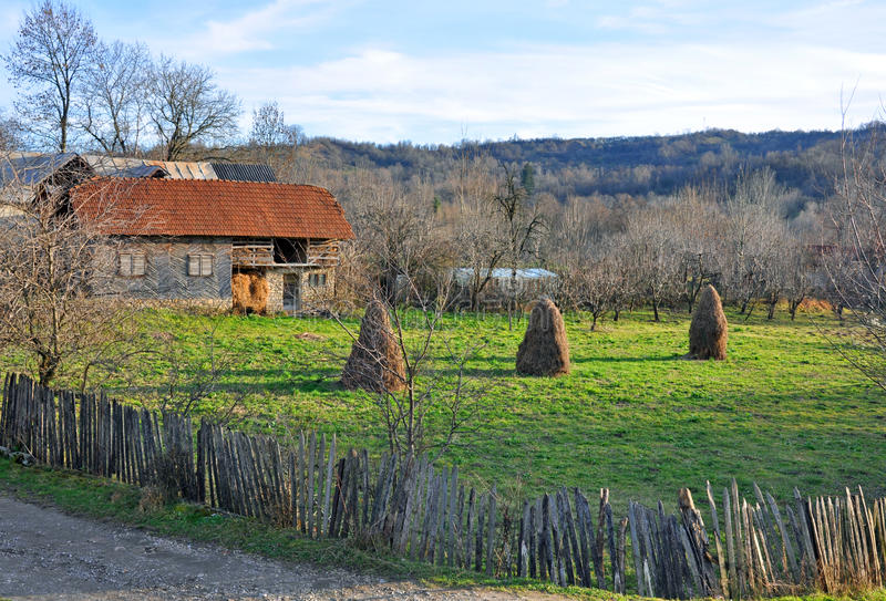 Download Generic Transylvania Rural Household Stock Image - Image of touristic, shadow: 17400183