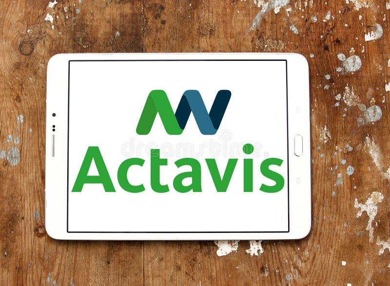 Generics Actavis λογότυπο φαρμακοβιομηχανίας στοκ φωτογραφία με δικαίωμα ελεύθερης χρήσης